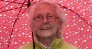 Bild der vermissten 91-Jährigen aus Davos Dorf (Bildquelle: Kantonspolizei Graubünden)